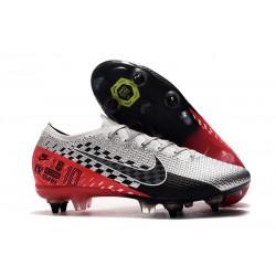 Nike Mercurial Vapor 13 Elite SG PRO AC Neymar Chrom Czarny Czerwony Platyna