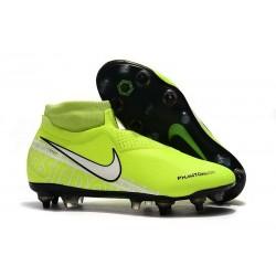 Nike Phantom Vision Elite DF SG-Pro AC Żółty Biały Barely Fluorescencyjny