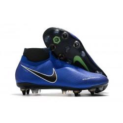 Nike Phantom Vision Elite DF SG-Pro AC Niebieski Srebrny Biały