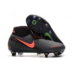 Nike Phantom Vision Elite DF SG-Pro AC Szary Pomarańczowy Czarny