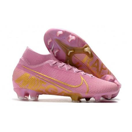 Buty Piłkarskie Nike Mercurial Superfly 7 Elite FG -Różowy Złoto