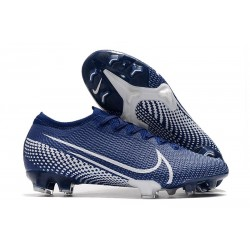 Nike Buty Piłkarskie Mercurial Vapor XIII 360 Elite FG Niebieski Biały