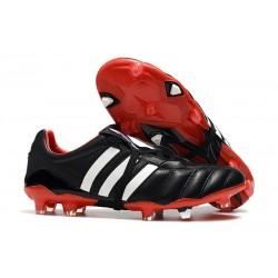Korki Pilkarskie Adidas Predator 19+ FG Czarny Czerwony Biały