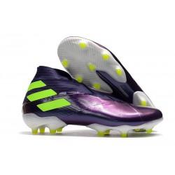 Adidas Buty Piłkarskie Nemeziz 19+ FG -Fioletowy Zawistny