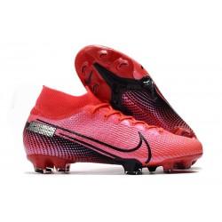 Buty Piłkarskie Nike Mercurial Superfly 7 Elite FG - Czerwony Czarny