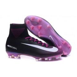 Sklep Buty piłkarskie Nike Mercurial Superfly V FG Czarny Fioletowy Biały