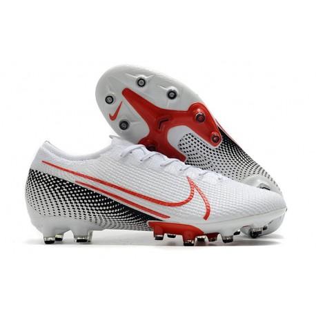 Nike Mercurial Vapor XIII Elite AG-PRO AC Biały Czerwony Czarny