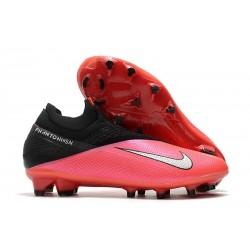 Buty piłkarskie Nike Phantom VSN II Elite DF FG Czerwony Srebrny Czarny