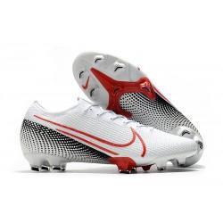 Buty Nike Mercurial Vapor XIII Elite FG Biały Czerwony Czarny