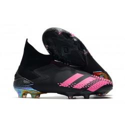 Buty adidas Predator Mutator 20+ FG - Czarny Różowy