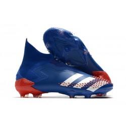 Buty adidas Predator Mutator 20+ FG -Niebieski Biały Czerwony