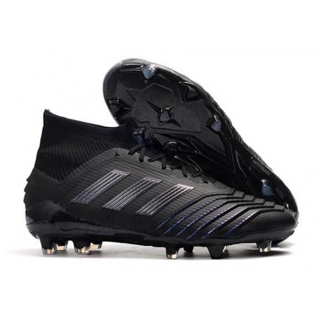 Profesjonalne Buty piłkarskie Adidas Predator Telstar 18.1 FG Czarny Metaliczny Copper Szary