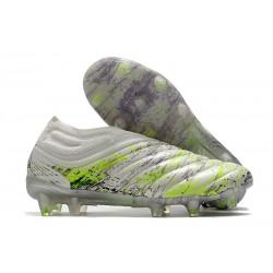 adidas Korki Pilkarskie Copa 20+ FG Biały Czarny Zielony
