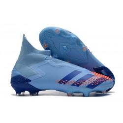 adidas Korki Predator Mutator 20+ FG - Niebieski Pomarańczowy