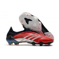 Buty piłkarskie Adidas Predator Archive Fg Czerwony Czarny Srebro