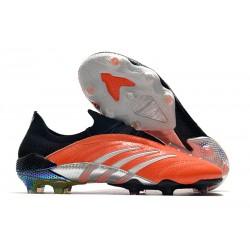 Buty piłkarskie Adidas Predator Archive Fg Pomarańczowy Czarny Srebro