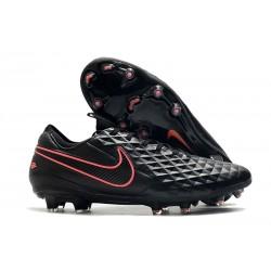 Nike Tiempo Legend VIII Elite FG Korki Pilkarskie Czarny Różowy
