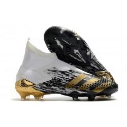 adidas Korki Predator Mutator 20+ FG - Biały Złoty Czarny