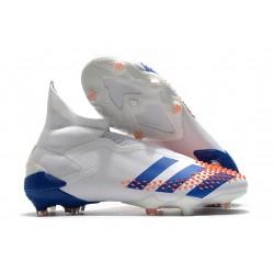 adidas Korki Predator Mutator 20+ FG - Biały Niebieski Czerwony
