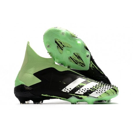 adidas Korki Predator Mutator 20+ FG - Czarny Zielony Srebro