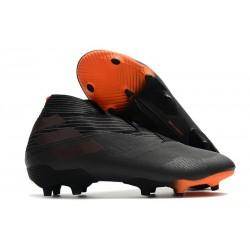 Adidas Buty Piłkarskie Nemeziz 19+ FG - Czarny Pomarańczowy