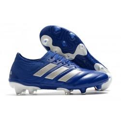 Buty piłkarskie adidas Copa 20.1 FG Niebieski Srebro