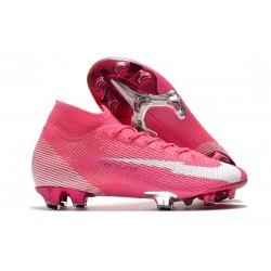 Nike Mercurial Superfly 7 Elite FG ACC x Mbappé Różowy Biały Czarny