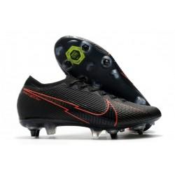 Nike Mercurial Vapor XIII Elite SG-pro AC Czarny Czerwony