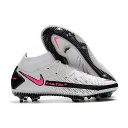 Nike Phantom GT Elite Dynamic Fit FG Biały Różowy Czarny