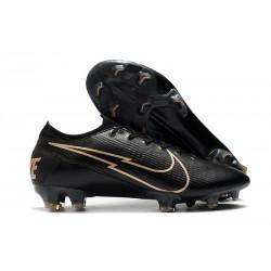 Nike Buty piłkarskie Mercurial Vapor 13 Elite FG Czarny Złoto