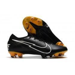 Nike Buty piłkarskie Mercurial Vapor 13 Elite FG Czarny Biały