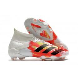 adidas Predator Mutator 20.1 FG Buty piłkarskie Biały Czarny Pop