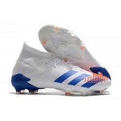 adidas Predator Mutator 20.1 FG Buty Biały Niebieski Pomarańczowy