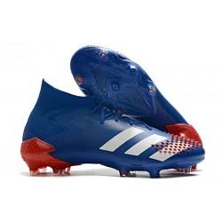 adidas Predator Mutator 20.1 FG Buty Niebieski Biały Czerwony