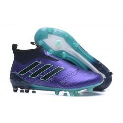 Nowe Buty piłkarskie Adidas ACE 17+ PureControl FG Czarny Niebieski