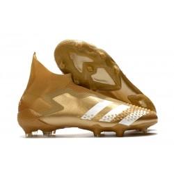 Buty Piłkarskie adidas Predator Mutator 20+ FG - Złoty Biały