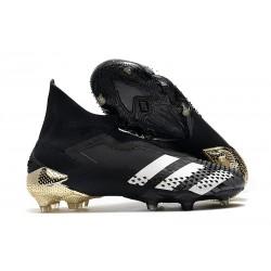 Buty Piłkarskie adidas Predator Mutator 20+ FG - Czarny Biały Złoto