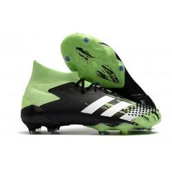 adidas Predator Mutator 20.1 FG Buty piłkarskie Czarny Biały Zielony