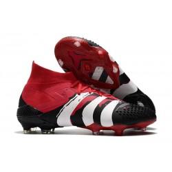 adidas Predator Mutator 20.1 FG Buty piłkarskie Czarny Biały Czerwony
