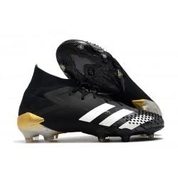 adidas Predator Mutator 20.1 FG Buty piłkarskie Czarny Biały Złoty