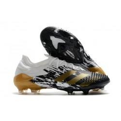 Buty piłkarskie adidas Predator Mutator 20.1 FG Biały Złoto Czarny