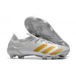 Buty piłkarskie adidas Predator Mutator 20.1 FG Biały Złoto