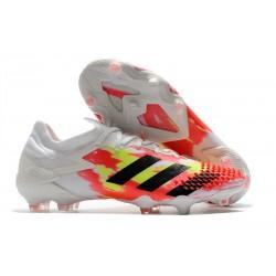 Buty adidas Predator Mutator 20.1 FG Biały Pomarańczowy Czarny
