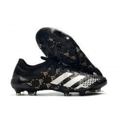 Buty piłkarskie adidas Predator Mutator 20.1 FG Paul Pogba Czarny Szary