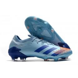 Buty piłkarskie adidas Predator Mutator 20.1 FG Niebieski Czerwony