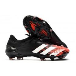 Buty piłkarskie adidas Predator Mutator 20.1 FG Czarny Biały Czerwony