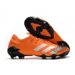 Buty piłkarskie adidas Predator Mutator 20.1 FG Pomarańczowy Biały