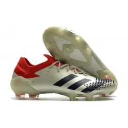 Buty piłkarskie adidas Predator Mutator 20.1 FG Biały Czerwony Czarny