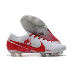 Nike Buty piłkarskie Mercurial Vapor 13 Elite FG LFC Biały Czerwony