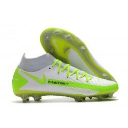 Buty 2021 Nike Phantom GT Elite DF FG Biały Zielony